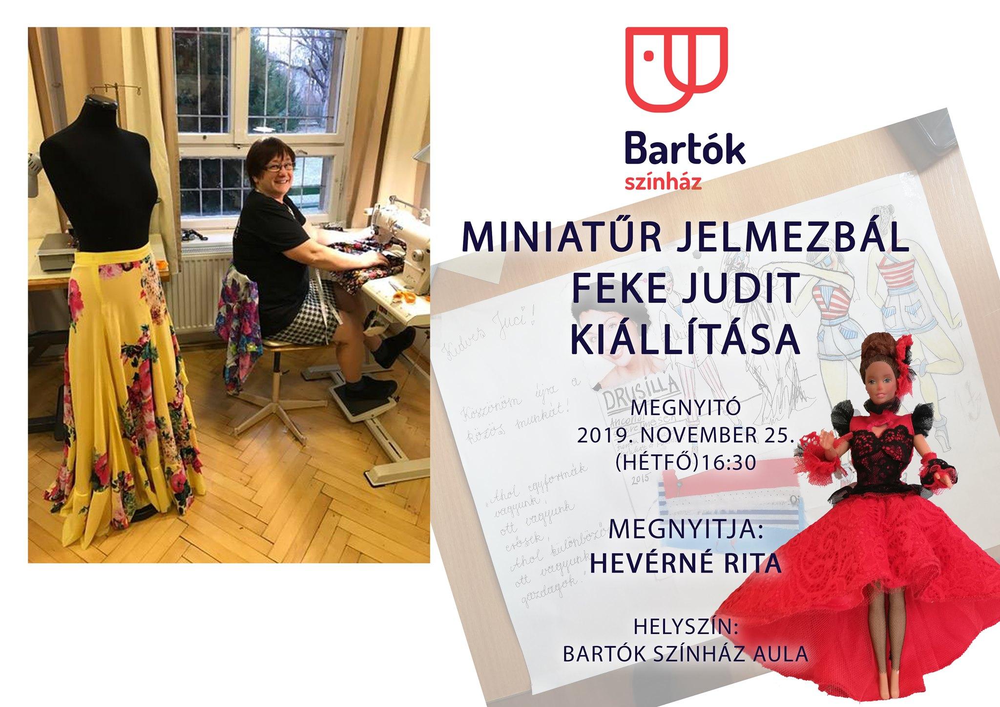Miniatűr Jelmezbál - Feke Judit kiállítása