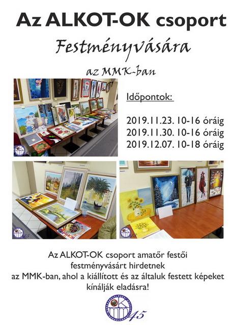 Az ALKOT-OK csoport festményvására