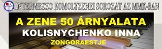 A Zene 50 Árnyalata Kolisnychenko Inna zongoraestje