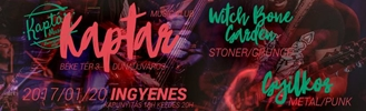 Witch Bone Garden & Gyilkos koncert
