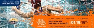 DUE-Maarsk - Honvéd női vízilabda mérkőzés