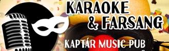 Karaoke & Farsangi Party