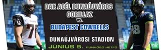 DAK Acél Dunaújváros Gorillaz - Budapest Cowbells