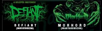 Defiant HR & Morhord HU koncert