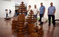 Két kiállítás a KMI-ben - fotó: Sándor Judit