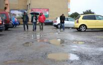 Felújítják a nagy parkolót