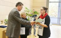 Átadták a Virágos Dunaújvárosért díjakat