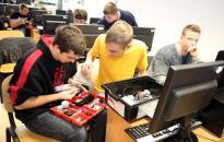 Legorobot-építés az egyetemen