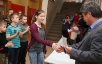 Rajz- és szépíróverseny a Petőfiben