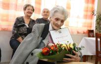 Eszti néni 105 éves - Isten éltesse sokáig!
