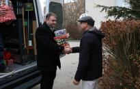 Ajándékdobozokat gyűjtöttek a megye rendőrei