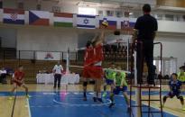 Győrben írtak történelmet a junior röplabdázók