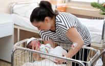 Megszületett az év első dunaújvárosi babája!