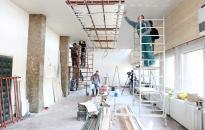 Városháza - Felújítják a földszinti dísztermet