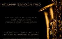 Egyszeri jazz a Molnár Sándor Trióval