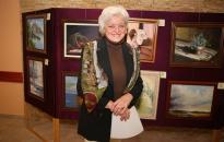 A pusztaszabolcsi festőkör kiállítása