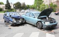 Két autó csattant a Kallósnál