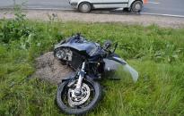 Súlyos motoros baleset a 6-oson