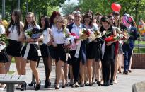 Rudasos ballagás, polgármesteri köszöntővel