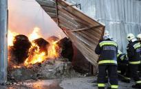 Hatalmas tűz Solton - Az újvárosi egységet is be kellett vetni