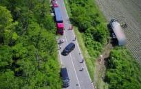 Brutális baleset volt a halálúton