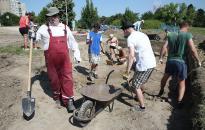 Elkezdődtek az ásatások a kőtár területénél