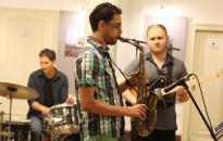 Ismét a Bartók aulájába költözött a jazz terasz - DO videó