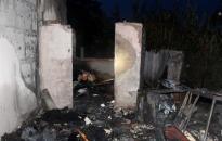 Családi ház égett - Szándékos gyújtogatás?