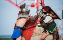 Gladiátorok csaptak össze a Rómain