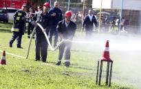 Tűzoltók lepték el a Szalki-szigetet