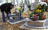 Kisvonat segíti a közlekedést a temetőben