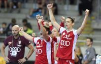 Először győzött a magyar válogatott
