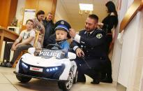 Kis járőrök köröznek a gyermekosztályon