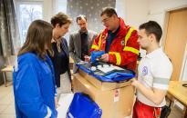 Hasznos ajándék a mentőállomásnak