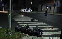 Motoros baleset a Magyar úton
