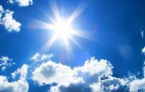 Sok napsütés, kevés eső