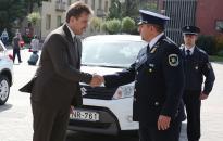 Három új rendőrautót kapott a kapitányság