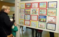 Kamerával a rajzpályázat kiállításán