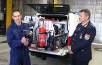 Új autó a városi tűzoltóknál