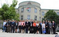 Magas rangú brazil delegáció a Dunaújvárosi Egyetemen