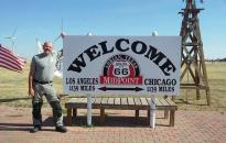 A Route 66 maga a legenda, az igazi amerikai életérzés