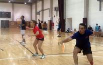 Edzőtáborban a tollaslabdázók