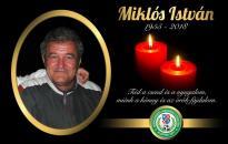 Elhunyt Miklós István!