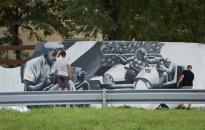 Várostörténeti montázs a Rómain
