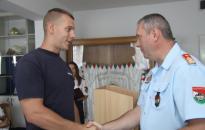 Újvárosi tűzoltót is kitüntettek