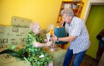 A 95. születésnapján is köszönthették