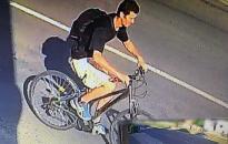 Kerékpárt lopott, keresik!