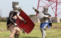 Római gladiátorok a Rómain