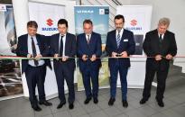 Dunaújvárosban nyílt meg a Suzuki legújabb márkakereskedése