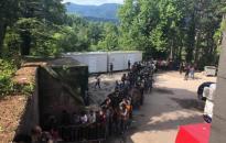 Száz migráns érkezik naponta a horvát határhoz